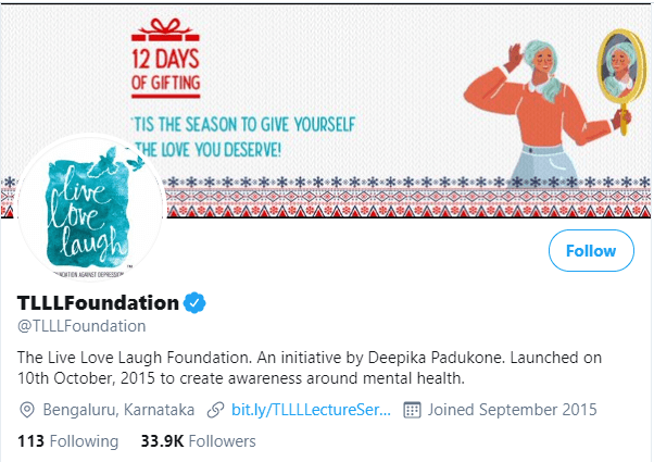 The Live Laugh Love Foundation