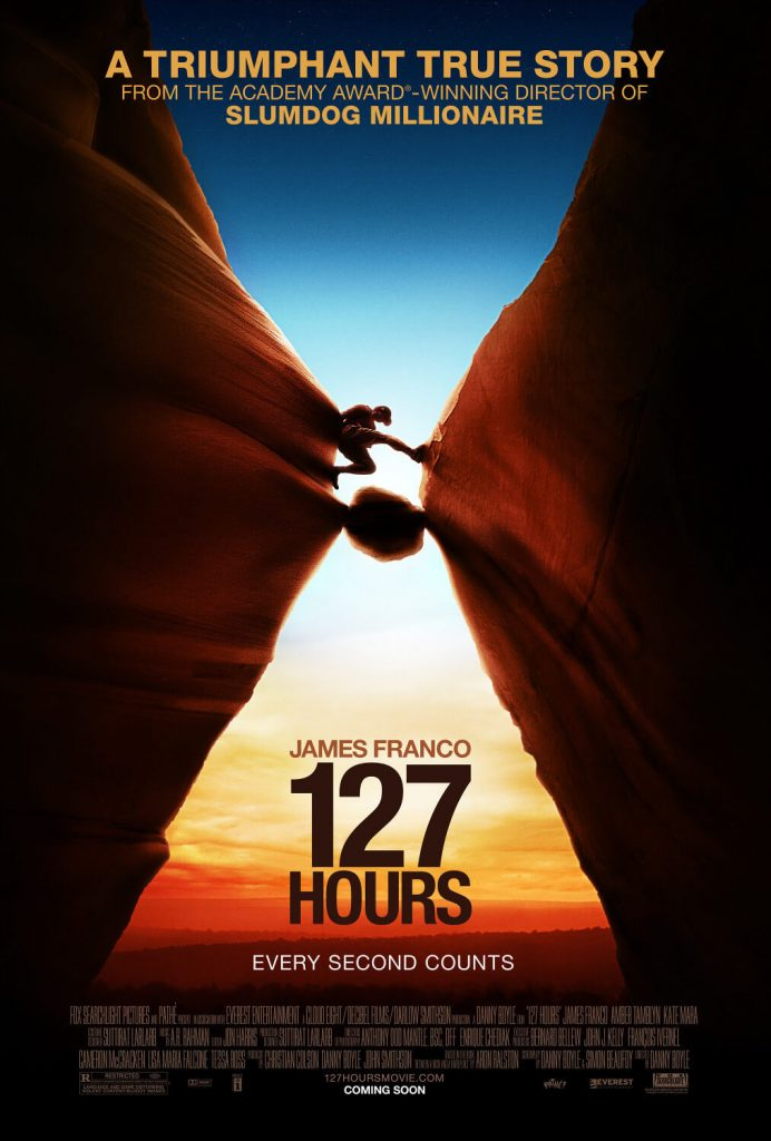 127 Hours motivational movies