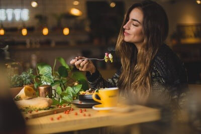 Being Mindful When Eating