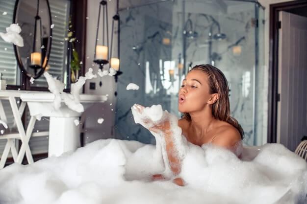 Being Mindful While Bathing