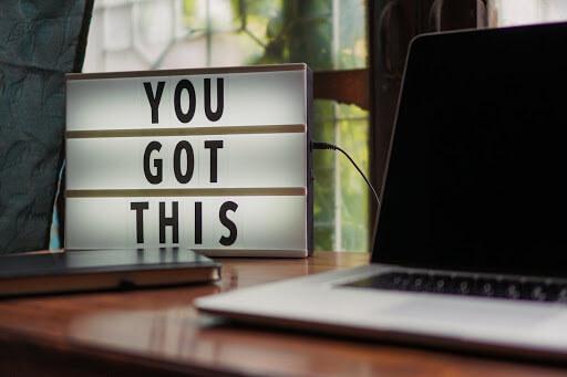 Put a Motivational Message