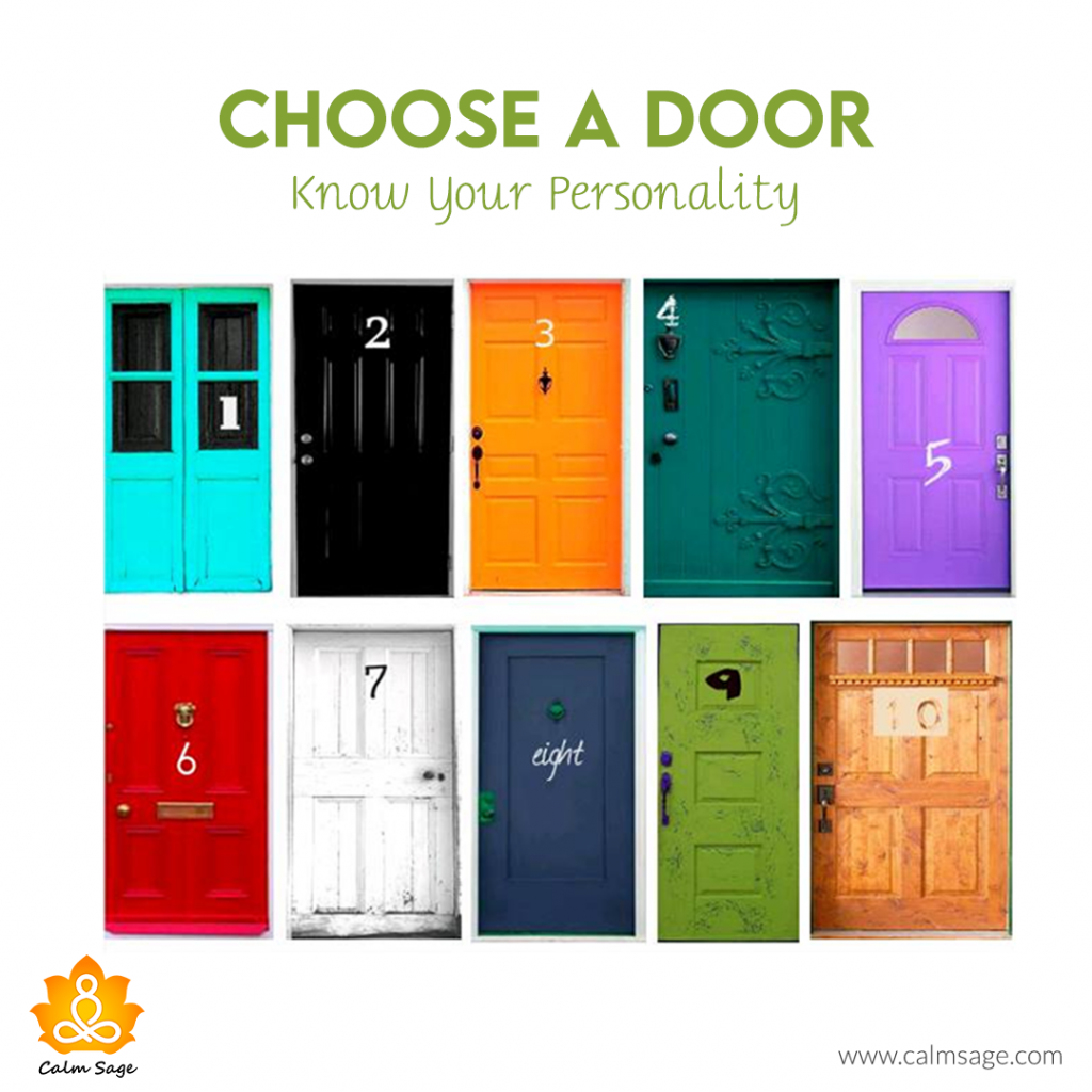 Choose A Door and Know Your Personality