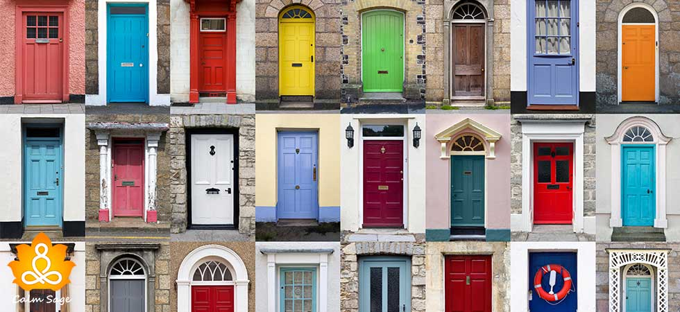 Personality Quiz choose the door