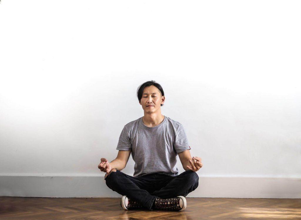 Karate Breathing Technique