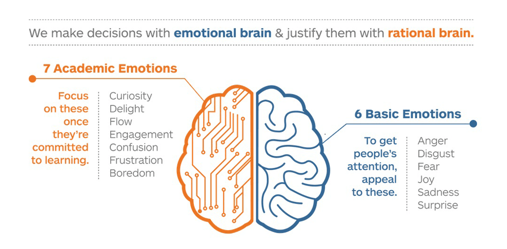 6 basic emotion and 7 academic emotion