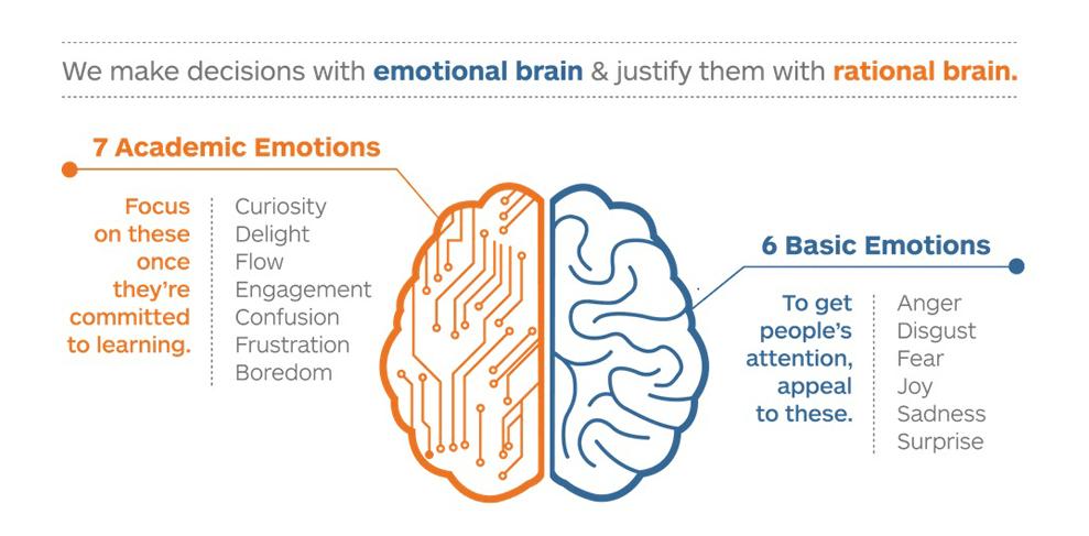 6 basic emotion and 7 academic emotion