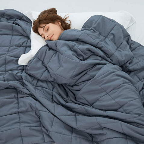 A Comfortable Or Weighted Blanket