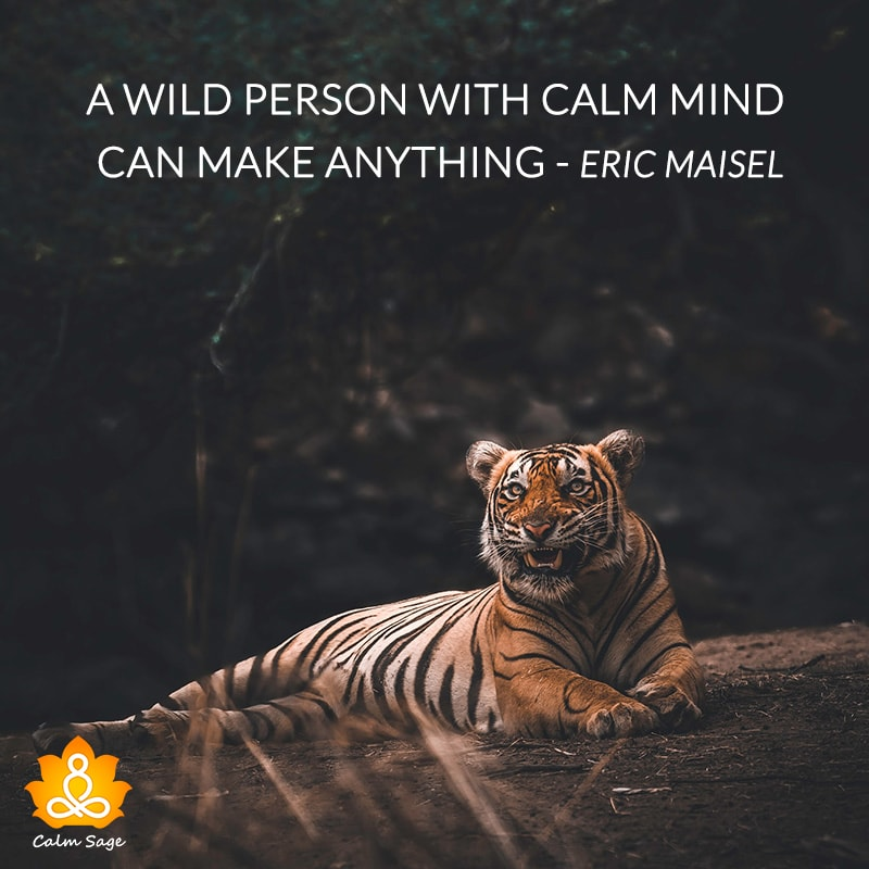 being calm quotes