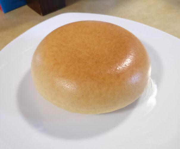 A bread bun so flawless