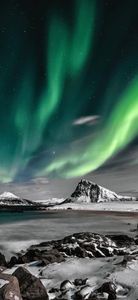 Aurora Borealis cool iPhone wallpaper