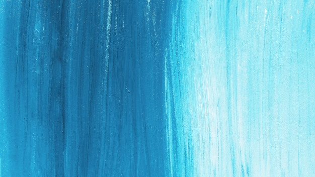 Blue and whitebrush strokes