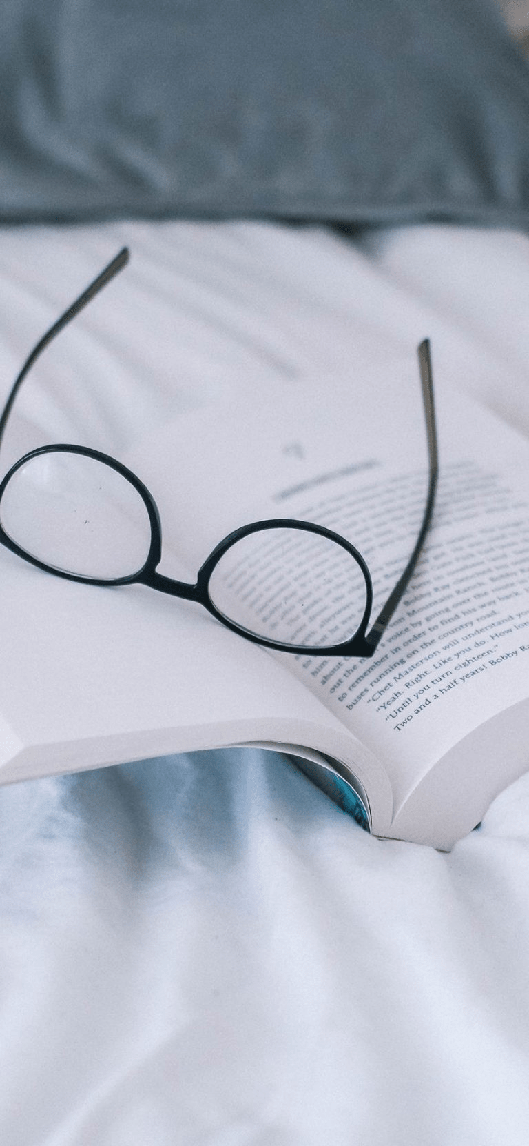 Book And Specks, peaceful wallpaper