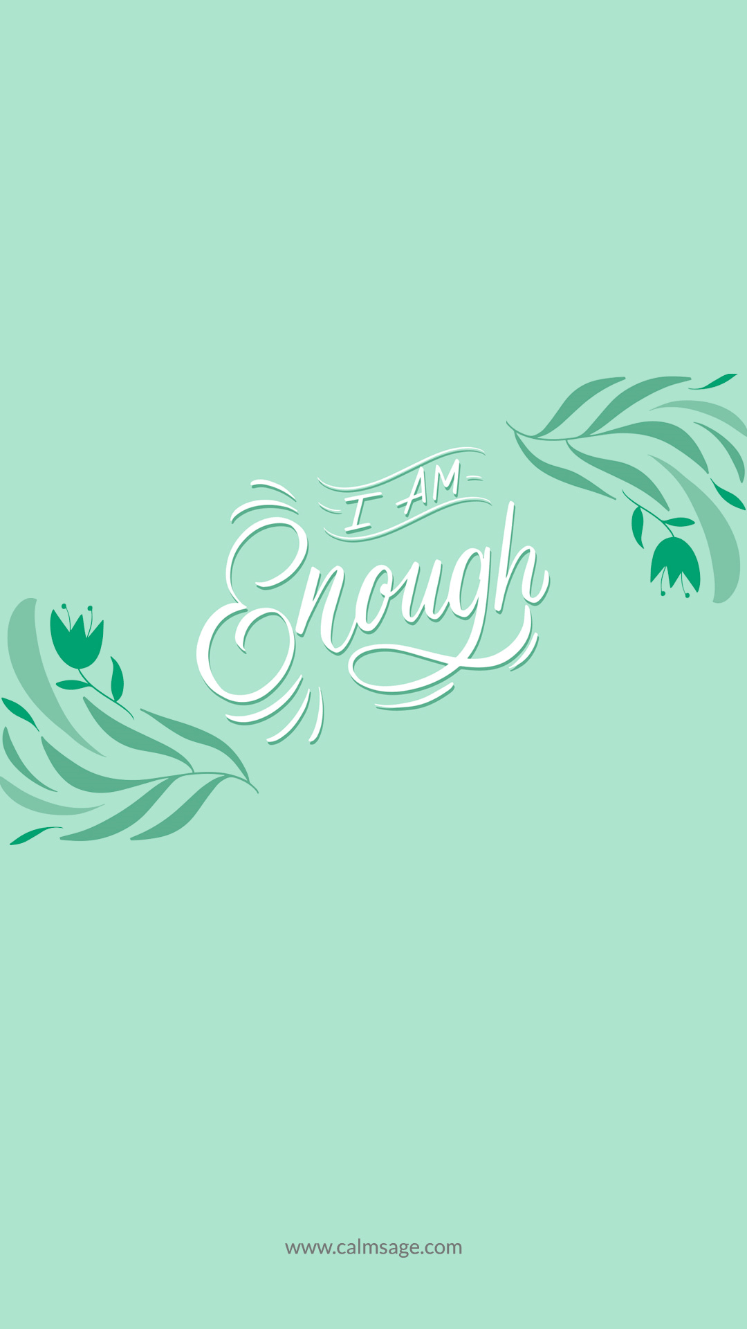 Yes You Surely Are Enough, calm mpbile background