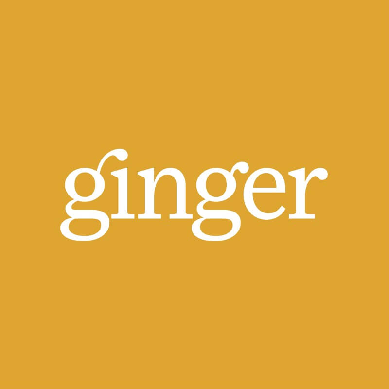 ginger online counselling logo