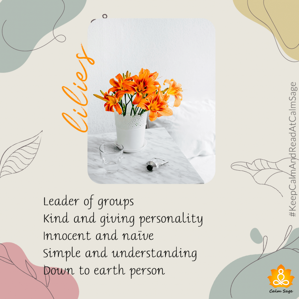 lilies - group leader