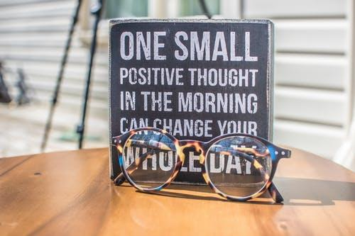 search the positivity in every negative situation