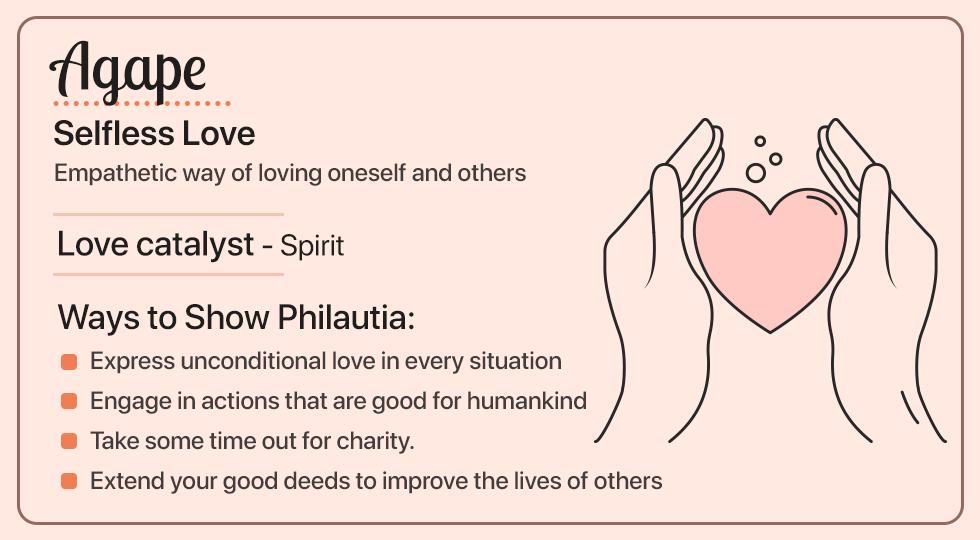 Agape- Selfless Love