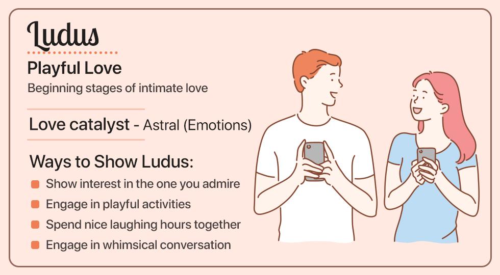 Ludus- Playful Love