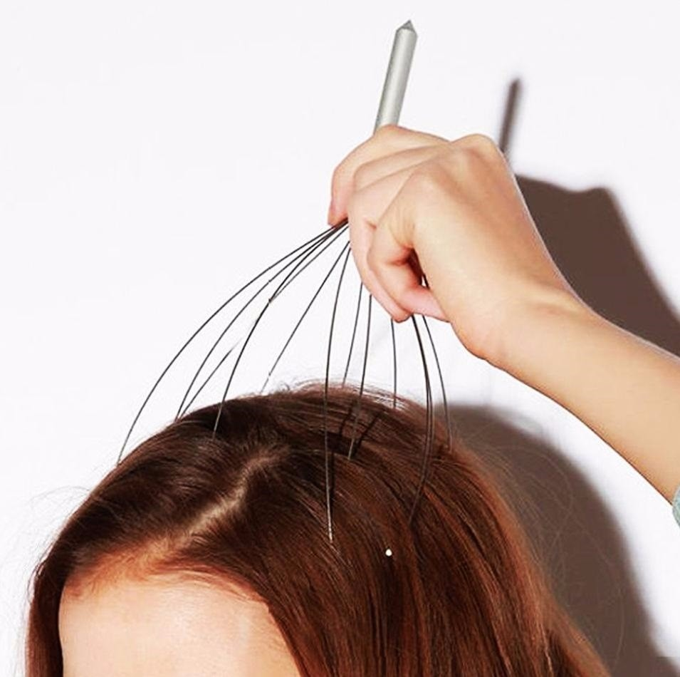 Scalp Massager helps to relieve stress
