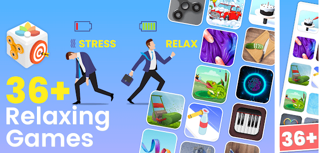 antiStress, Relaxing, Anxiety & Stress-relief game