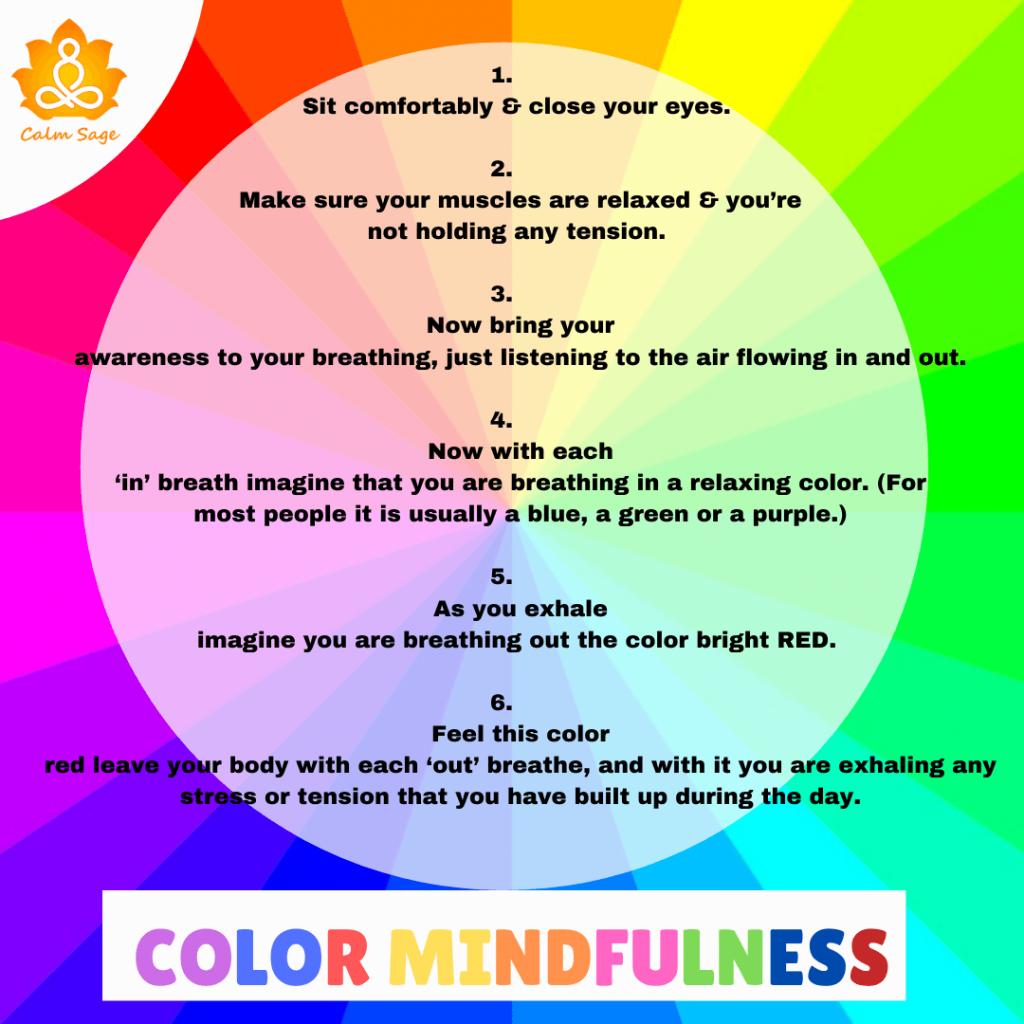 color mindfulness