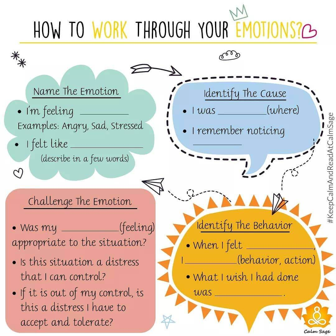 how to work on your emotions