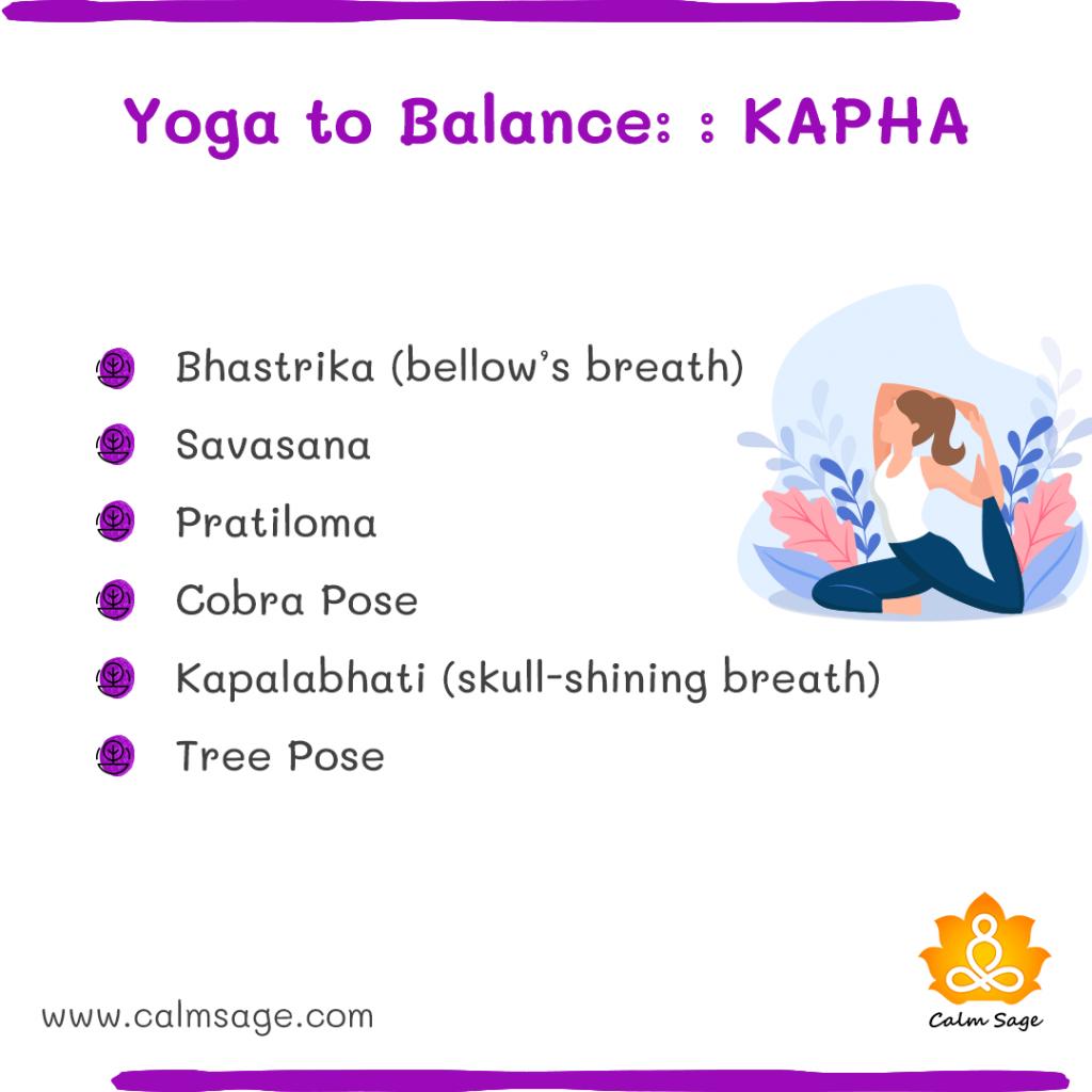 yoga to balance kapha