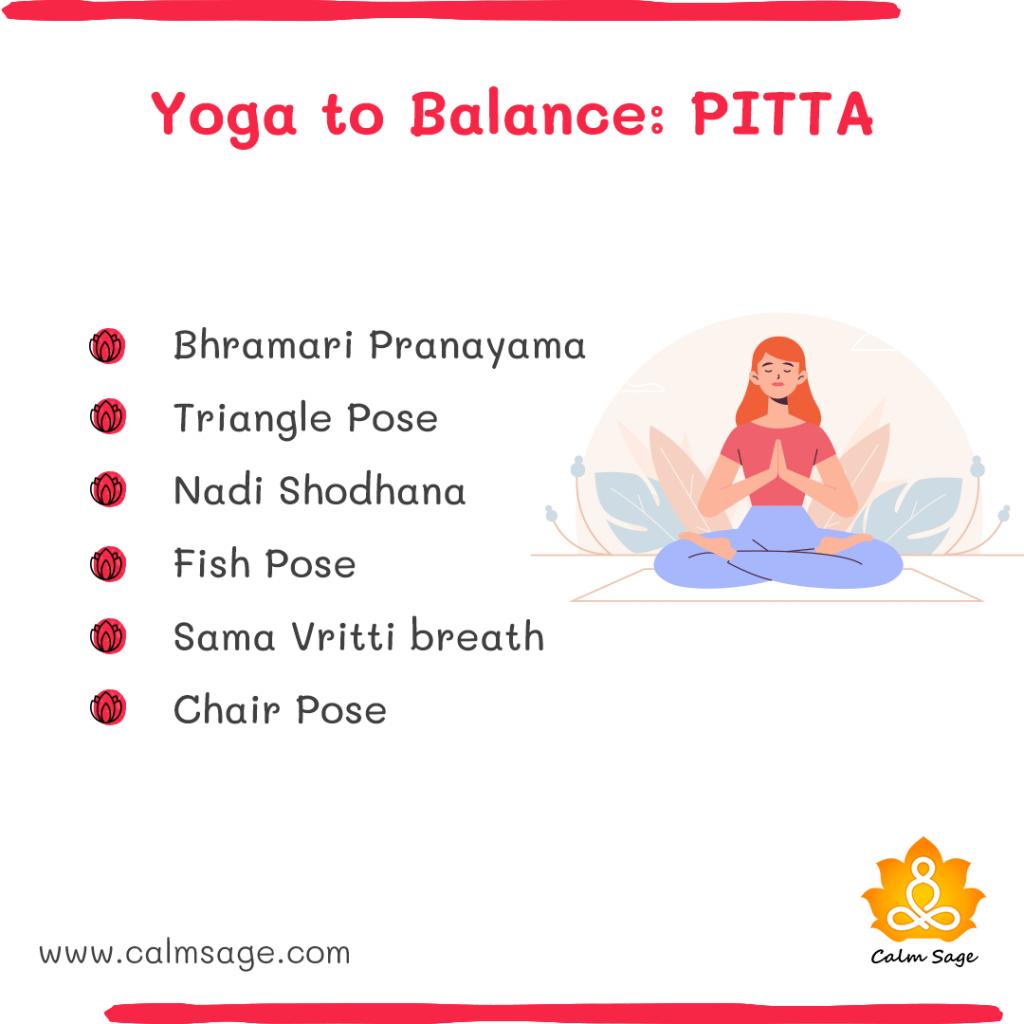 yoga to balance pitta