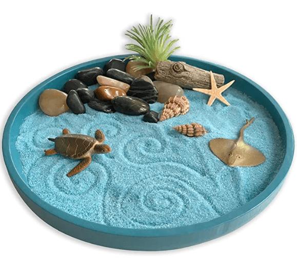 zen Garden Sandbox a stress reliever toy