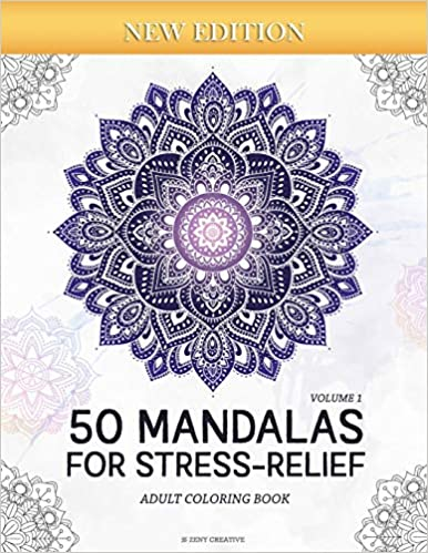 50 Mandalas For Stress-Relief