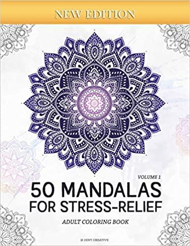 50 Mandalas For Stress-Relief