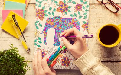 Best Adult Coloring Books For Mental Peace