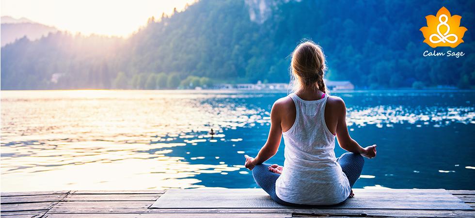 Establish inner peace with water meditation