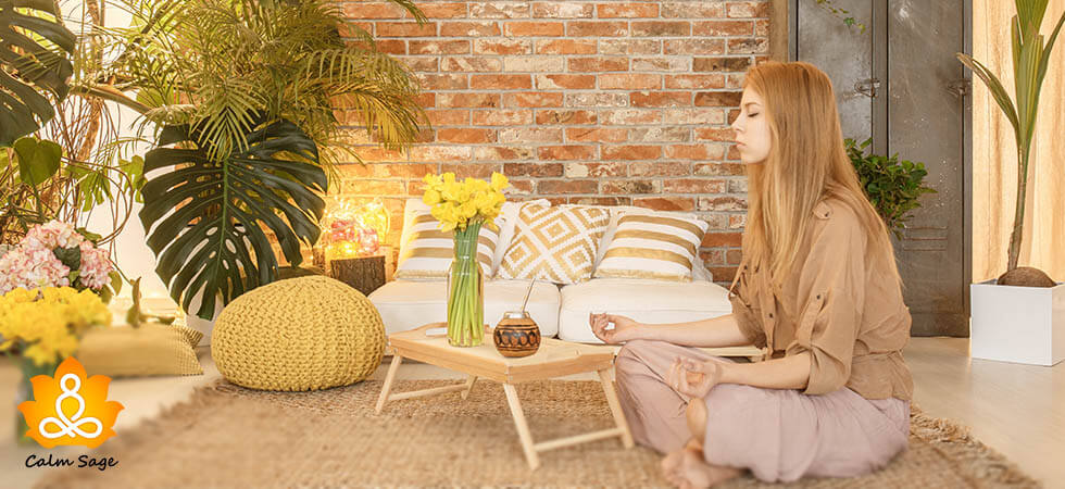 How to create your own meditation room