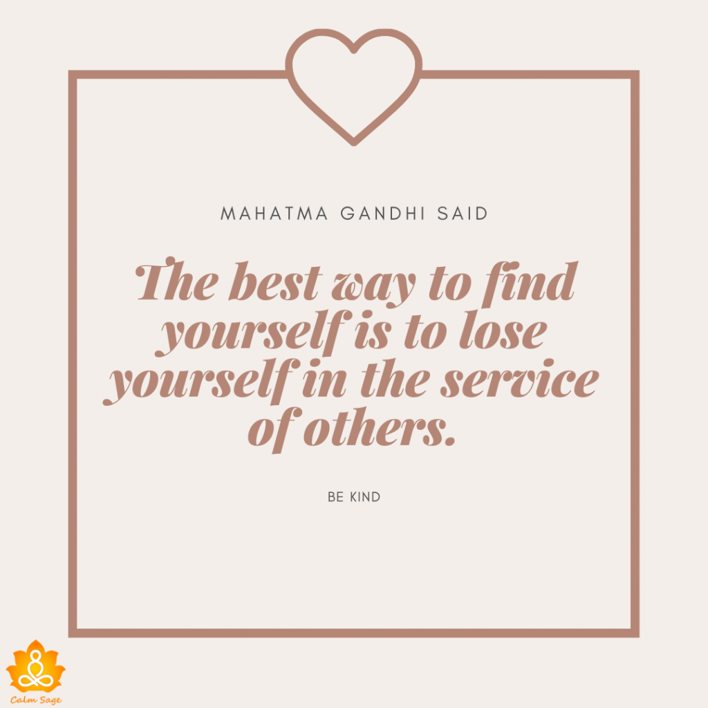 kidness quote about mahatma gandhi