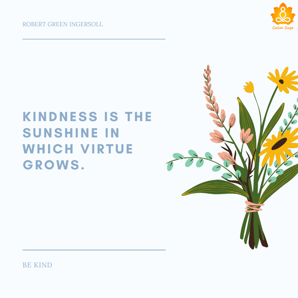 kindness is sunshine