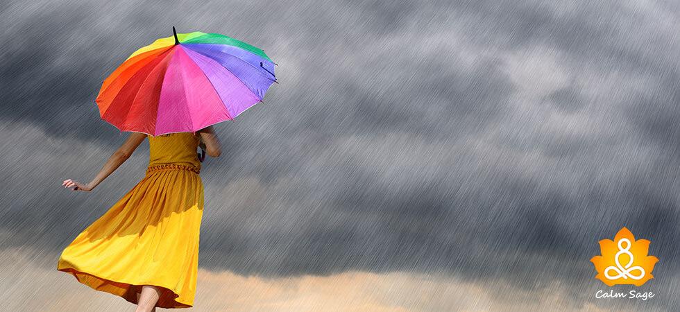 practice rain mindfulness
