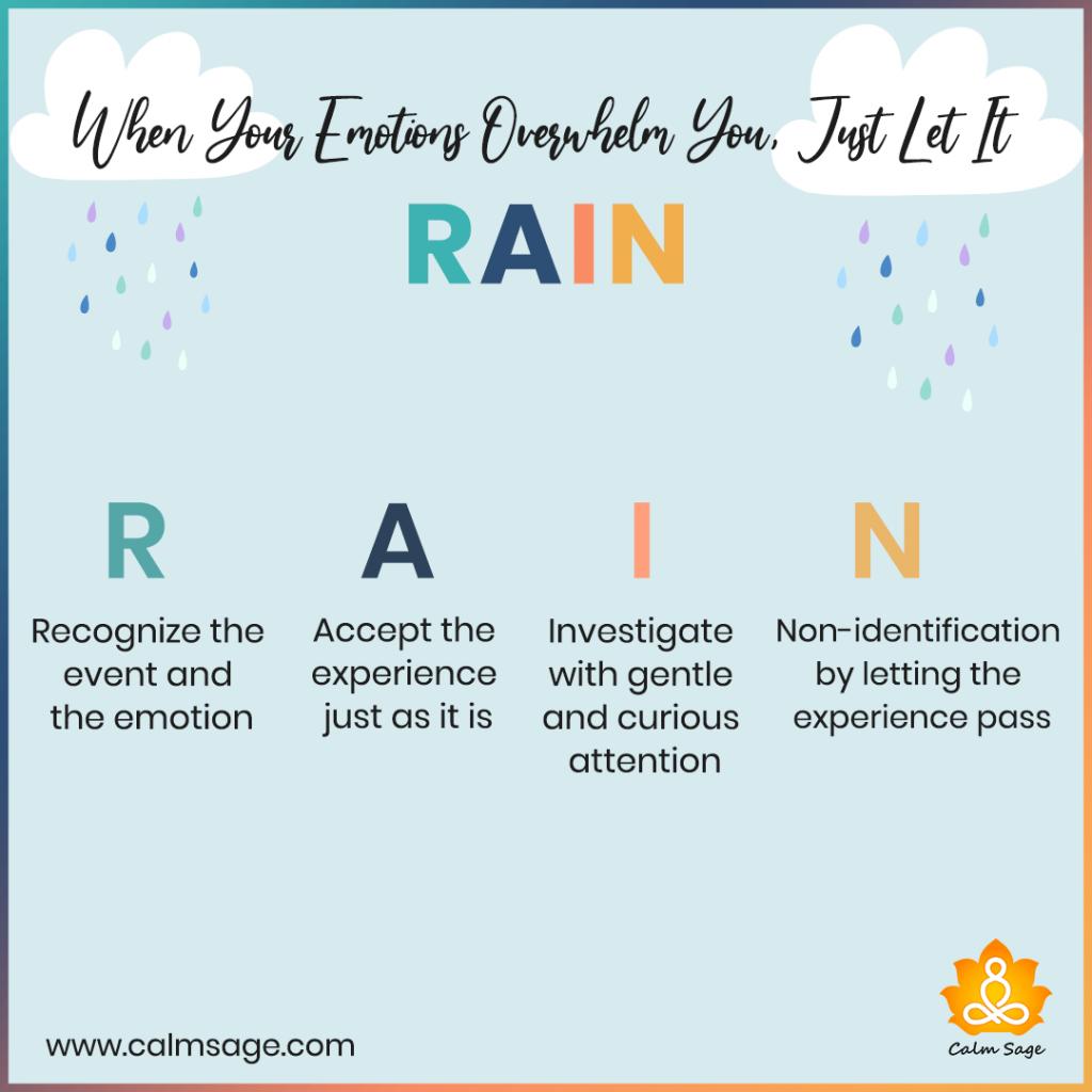 when you overwhelmed let it rain
