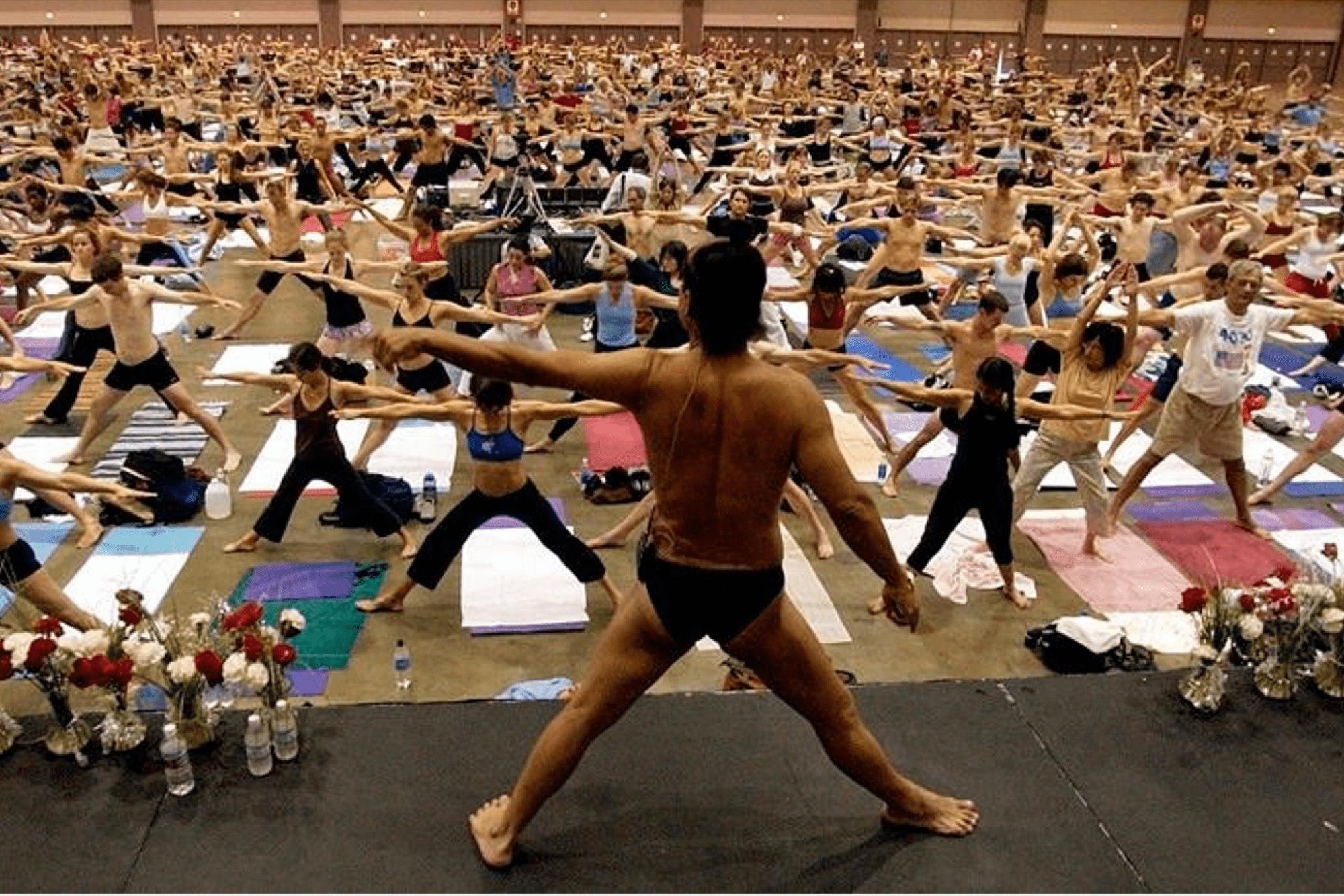 Bikram Yoga or Hot Yoga