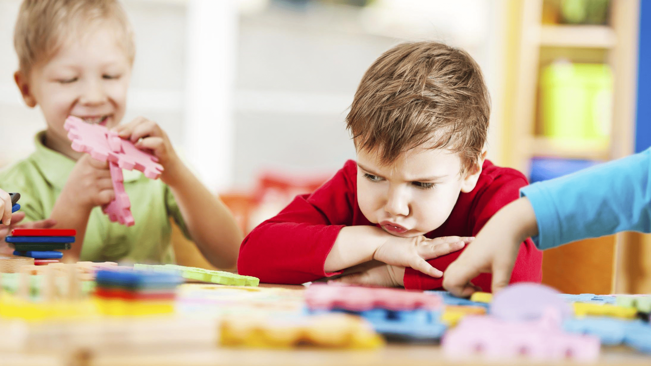 Child Is Under Frequent Frustration