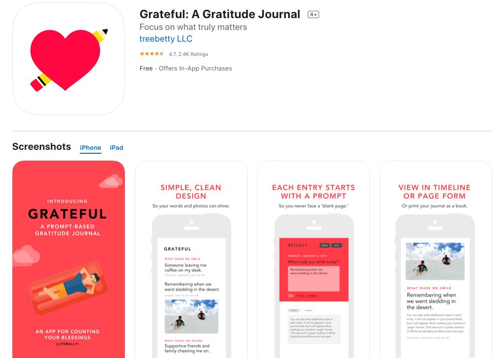 Grateful A Gratitude Journal