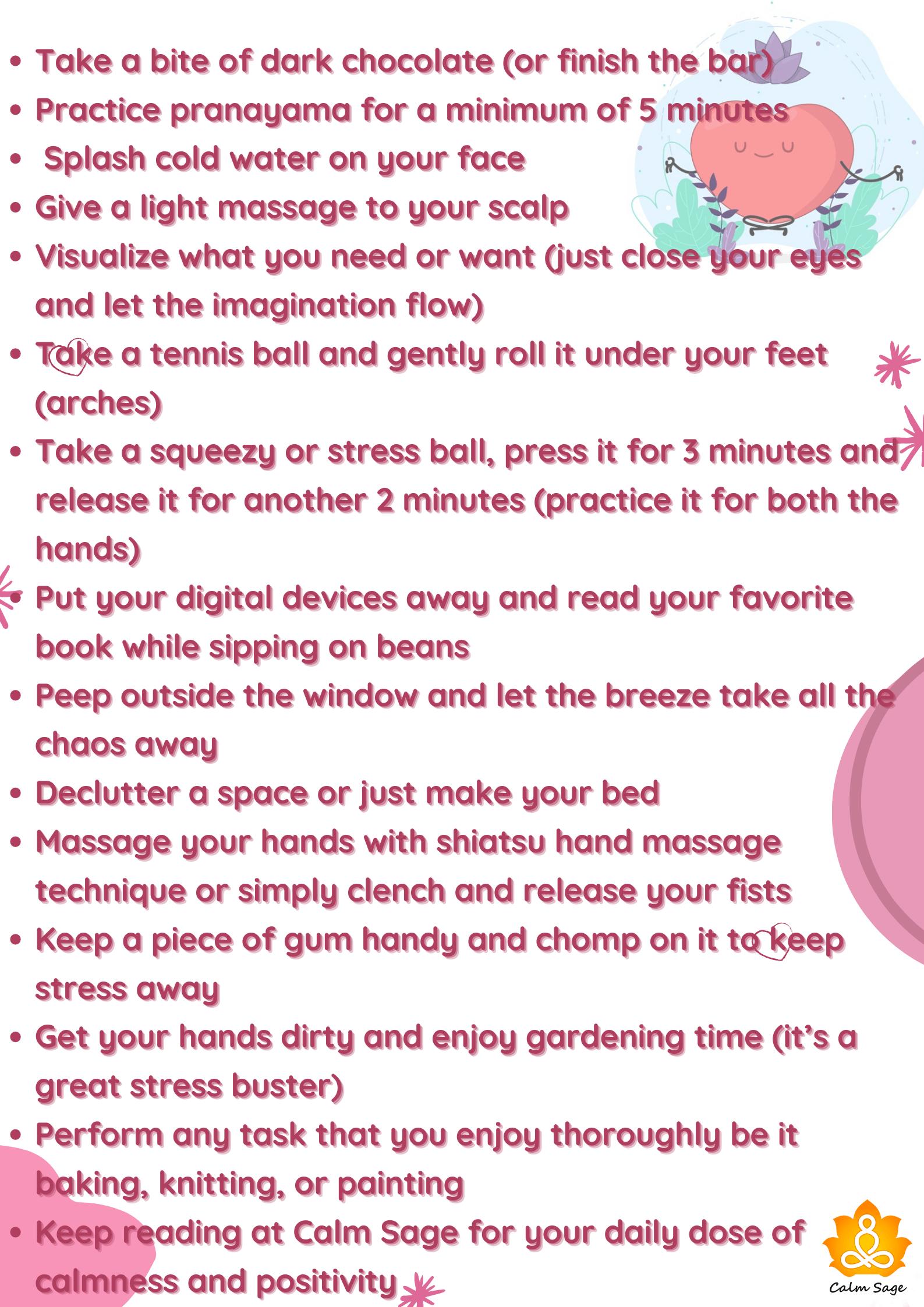 How to keep you Mind calm
