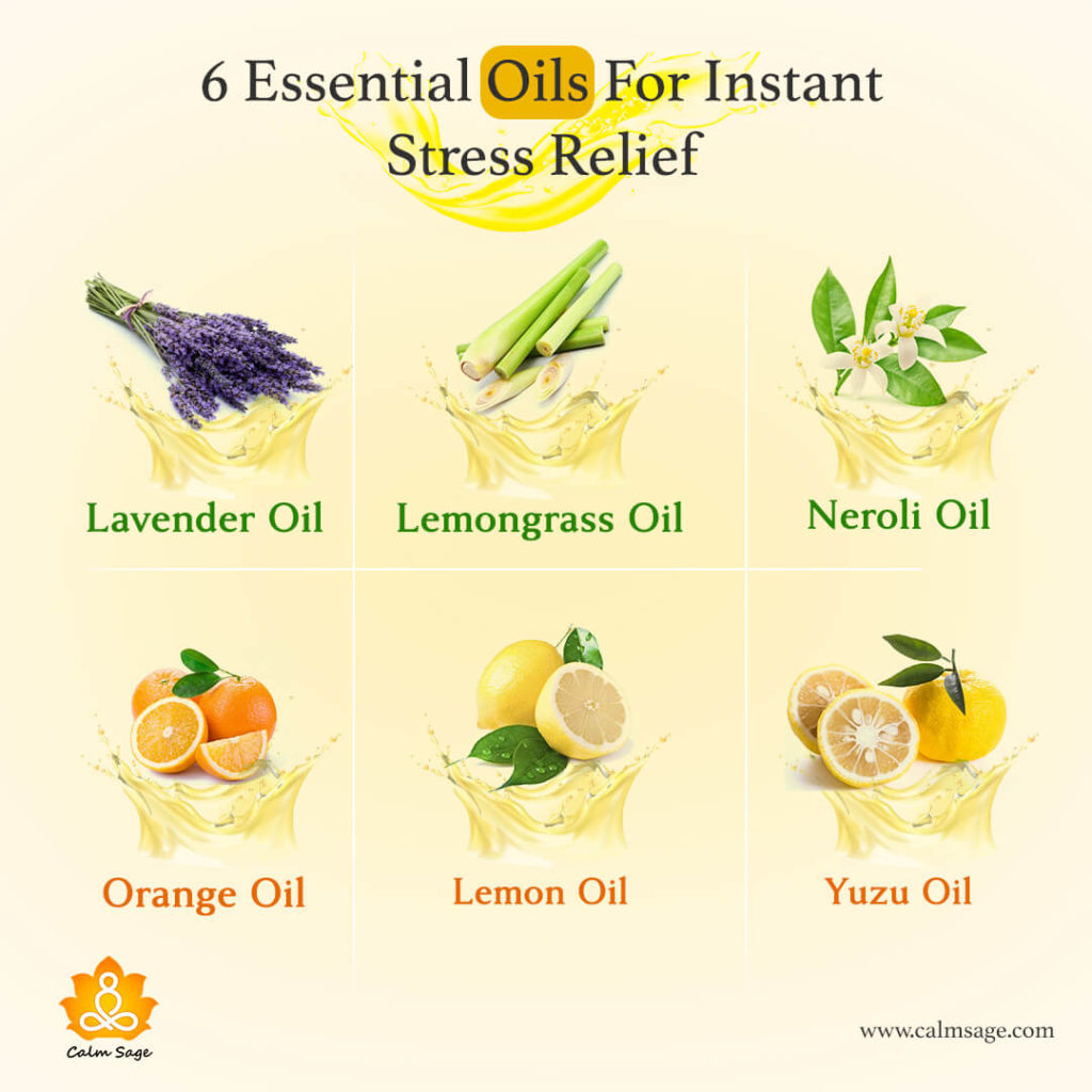 essential oil for stress relief