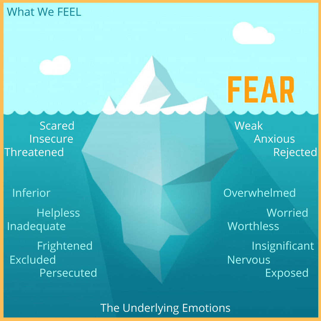 fear the underlying emotions
