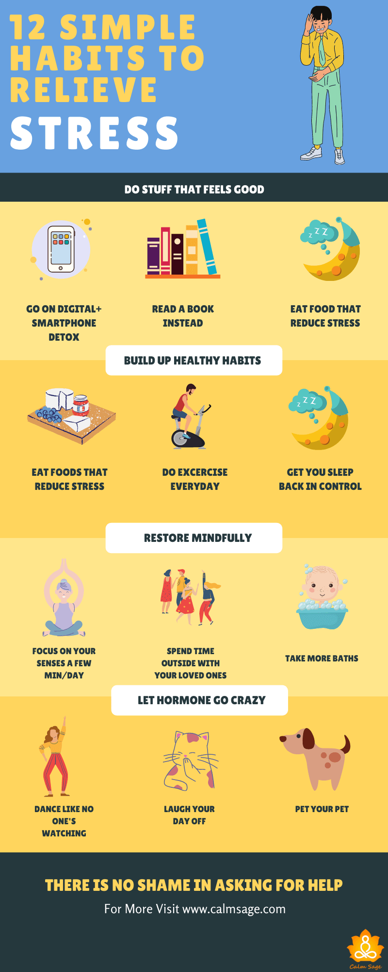 habits to relive stress