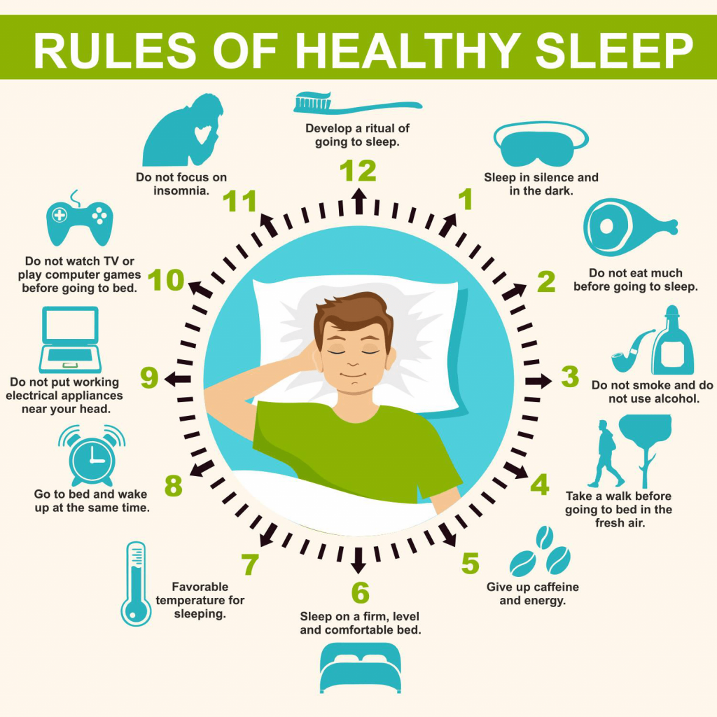 rules of healthy sleep