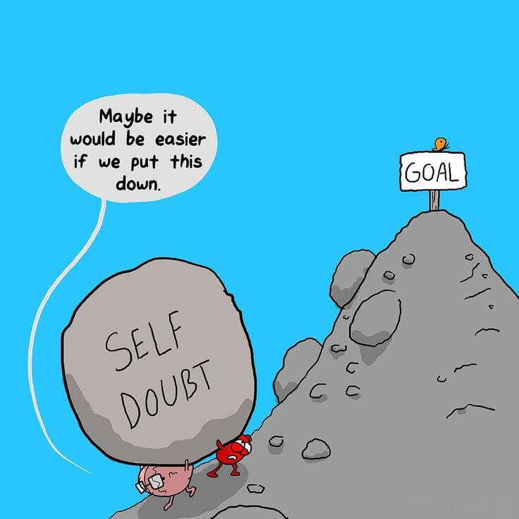 what causes Self-Doubt