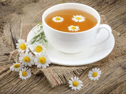 Chamomile tea for depression