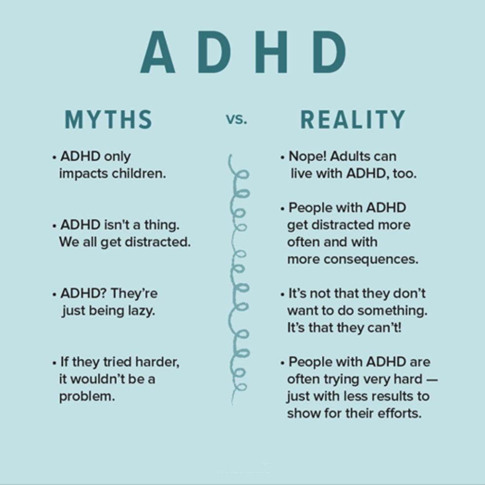 myths vs facts adhd
