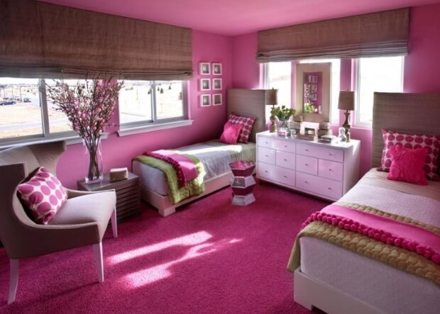 pink - positive vibe color for love